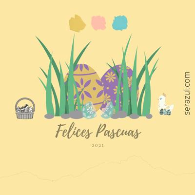 La tradición de los huevos decorados de Pascua