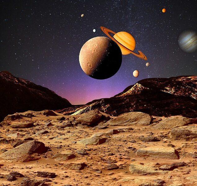 Universe Cosmos Space Planet  - sciencefreak / Pixabay